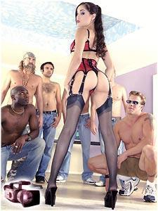 Sasha grey porn gangbang